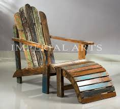 wooden adirondack chairs recycled wood chair knock living room antique wooden rest wood wood furniture