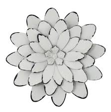 on black metal flower wall art uk with small flower metal wall art antique white