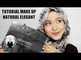 makeup routine 2017 tutorial makeup hijab one brand makeup wardah natural elegant ussiy
