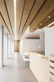 creative office ceiling. office design based on creative wooden shapes wood minimalism ceiling f