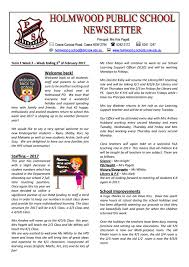 Holmwood Public School Term 1 Week 2 By Ccnnews Issuu
