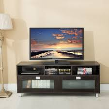 Tv Cabinet Living Room Modern Living Room Wood Glass Entertainment Units Tv Stands Ebay