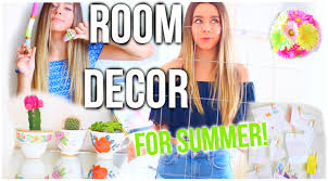 diy room decor for summer make your room cute tumblr youtube