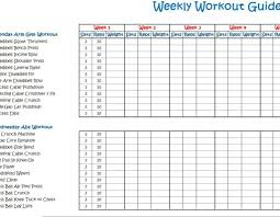 11 12 Printable Exercise Charts Lasweetvida Com