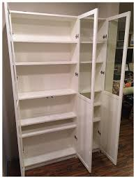 ikea billy bookcase as pantry 0025