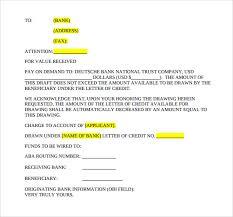 Letter Credit PDF