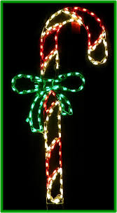 Wayfair String Lights The Holiday Aisle Led Lit Candy Cane With Bow String