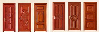 Single Design Door Hot Item Modern House Wooden Single Main Door Design Front Door Security Door