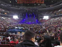 Wells Fargo Center Section 108 Row 16 Seat 3 Ariana