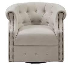 ansley swivel barrel chair