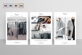 Postcard Designer Clothes Indesign Flyer Templates Top 50 Indd Flyers For 2018