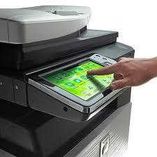 sharp printer. sharp mx3110n color copier laser printer fax colour photocopier copy machine (3110 3110n) u