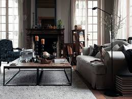 Living Room Furniture Inspire Q Harrison Industrial Rustic Pipe
