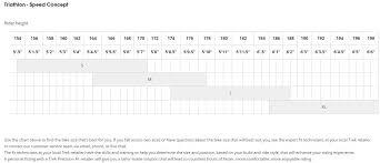 Trek Frame Size Chart Damnxgood Com