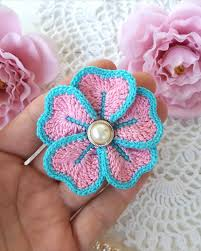 Crochet Flowers Patterns Beauteous 48 Easy Crochet Flower Patterns