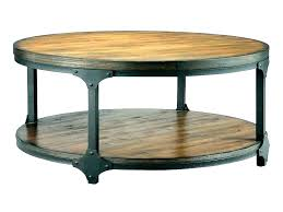 metal outdoor coffee table wood and iron furniture round reclaimed wrought cherry small oval ght with