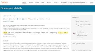 Ieee Icivc 2019 2019年ieee第四届图像视觉与计算国际会议