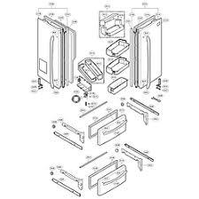 lg refrigerator parts diagram. door parts lg refrigerator diagram g