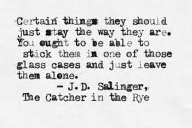 Catcher In The Rye Quotes Stunning The Catcher In The Rye Via Tumblr On We Heart It