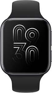 OPPO Smartwatch 41 mm WiFi, AMOLED Display, GPS, NFC, Bluetooth 4.2, WiFi,  Wear OS by Google/ColorOS Watch, VOOC Schnellladefunktion, schwarz:  Amazon.de: Elektronik & Foto