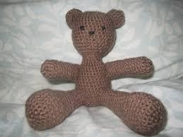 Crochet Teddy Bear Pattern Interesting Crochet Teddy Bear Pattern FeltMagnet