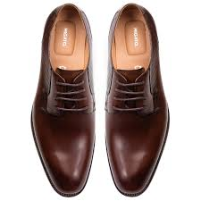 men s brown oxford hover to zoom