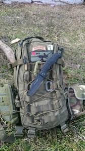 Couteau Pohl Force Alpha Five Survival Tanto lisse chez ASMC