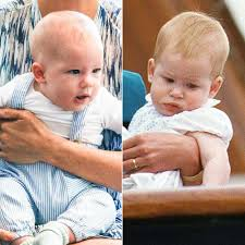 His parents first met on a blind date in july 2016.the date was set up by their mutual friend. Archie Looks Like Young Prince Harry At 1st Royal Engagement Pics