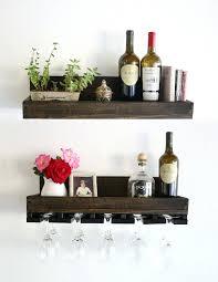 hanging wine glass racks rack plans target