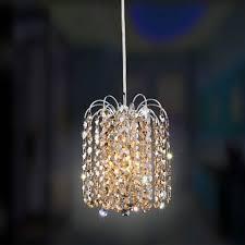 swarovski crystal lighting. Allegri By Kalco Milieu Mini Round Pendant Chrome One-Light  With Swarovski Strass Swarovski Crystal Lighting