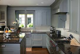 blue gray kitchen cabinets view full size