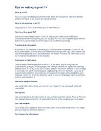How To Write Good Resume Ideal Portrait Cv Sample Up Student