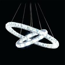circle crystal chandelier casual crystal chandeliers modern luxury 2 double rings led crystal chandelier light fixture