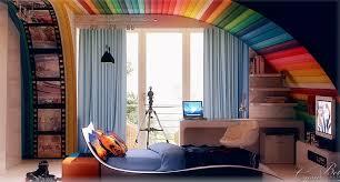 Unique kids bedroom furniture Girls Bedroom Home Design Ideas Colorful Kids Rooms