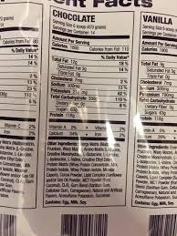 optimum nutrition serious m vanilla high protein weight gain powder 50g protein 249g carbs 25 vitamins minerals no sugar added 1250 calories