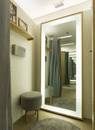 led lights of dressing mirrors
