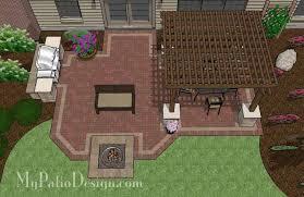 pergola covered unique patio tinkerturf