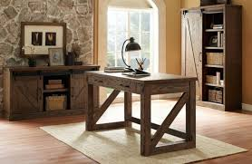 rustic home office furniture home interior design ideas intended for rustic home office desk ideas