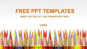 free downloadable powerpoint themes free powerpoint education templates colored pencils education