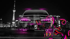 toyota soarer jdm effects back crystal city car