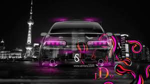 toyota soarer jdm effects back crystal city car