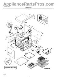 frigidaire 318255006 element heating appliancepartspros com part diagram