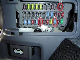 where are the resisters, for the car radio, in a 2005 honda accord? 2004 honda accord fuse box layout 2005 Honda Accord Fuse Box #13