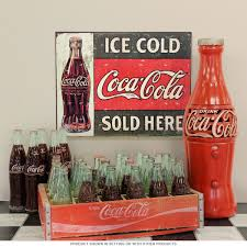 Coca-Cola Ice Cold Sold Here 1916 Metal Sign