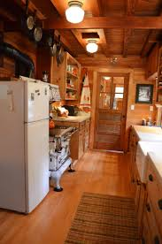 Log Cabin Kitchen Decor Cabin Kitchen Cabinets Kitchen Cabinet Kitchen Log Cabin