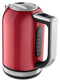 kitchenaid artisan kek1722 electric kettle empire red