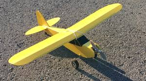Rc Plane Paint Designs Ft Simple Cub Build Mods Painting And First Flight Flite Test