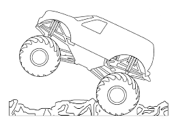 Small Picture Grave Digger Monster Truck Coloring Pages Birthday Ideas