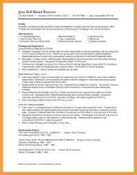 6 Skills Resume Template Resume Pdf