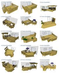ground level deck plan pictures are courtesy of decks com to purchase deck plans please visit decks com